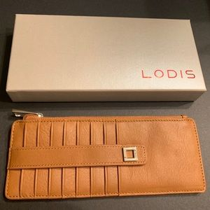 Brand New Lodis ID/Card protected Card Case Wallet